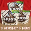 3 Bags HERSHEY'S HUGS Chocolate with White Creme 10.6oz. Each - New & Sealed
