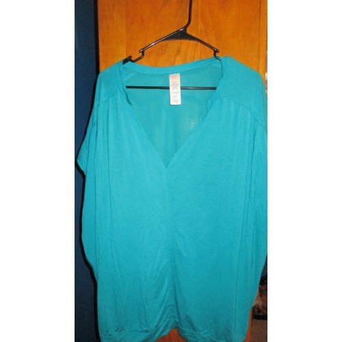 Teal Blouse by Avon L/XL * Sale *