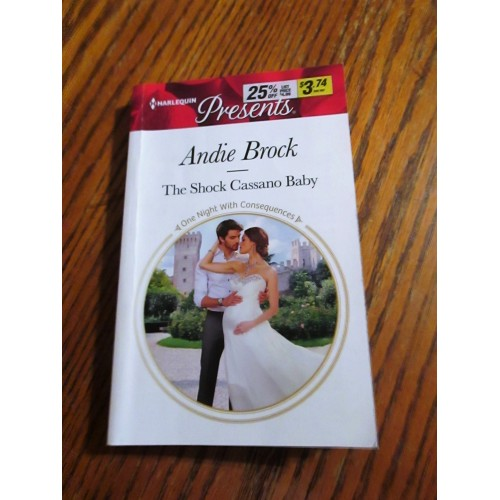THE SHOCK CASSANO BABY ~ By Andie Brock ~ Harlequin Presents #3428