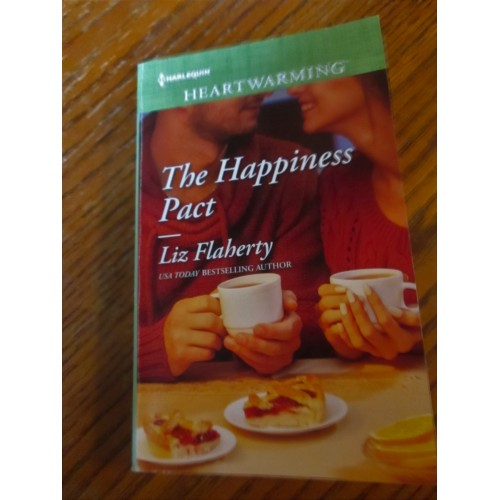 THE HAPPINESS PACT ~ By Liz Flaherty ~ 2017 Harlequin Heartwarming Romance#214