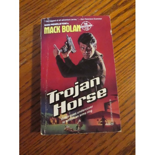 MACK BOLAN THE EXECUTIONER TROJAN HORSE #110