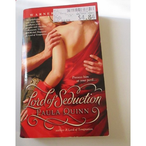 LORD OF SEDUCTION ~ Paula Quinn