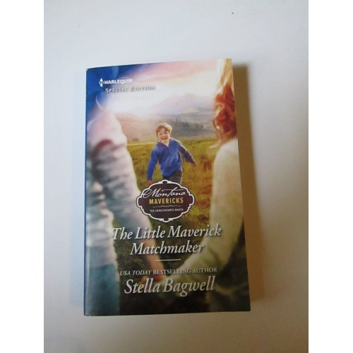 THE LITTLE MAVERICK MATCHMAKER ~ By Stella Bagwell ~ Harlequin Special Edition #2641