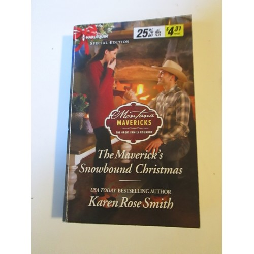 THE MAVERICK'S SNOWBOUND CHRISTMAS ~ By Karen Rose Smith ~ Harlequin Sprcial Edition #2582