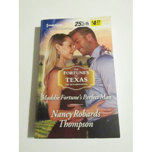 MADDIE FORTUNE'S PERFECT MAN ~ By Nancy Robards Thompson ~ Harlequin Special Edition #2618