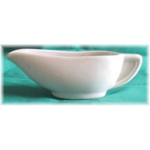 Hall China White Sauce Boat