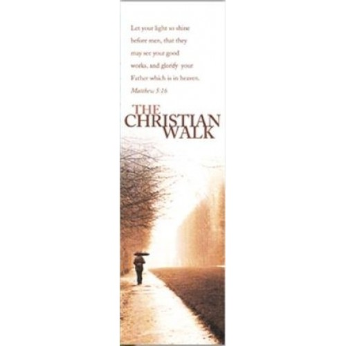SALE The Christian Walk Bookmark