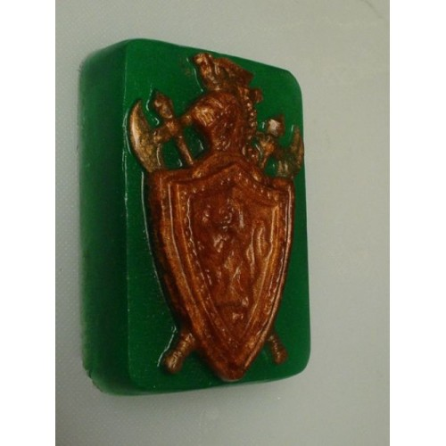 Wild Wild West for Men Scent Handmade Glycerin Soap Knights Armor