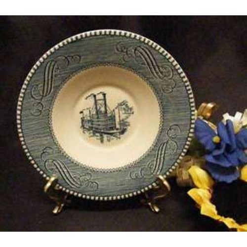 SOLD***2383 Royal China Currier N Ives Saucer