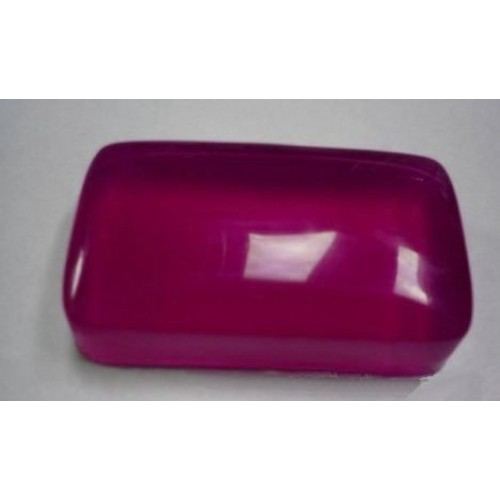 First Kiss Scent Handmade Glycerin Soap Rectangular Full Size Pink Color
