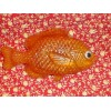 Fresh Squeezed Orange Scent Glycerin Soap with vitamin E Fish Shape