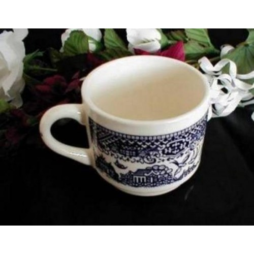 1051 Vintage Royal China Blue Willow Stack Mug