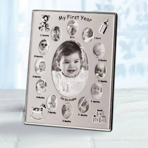 39783 Accent Plus My First Year Photo Frame
