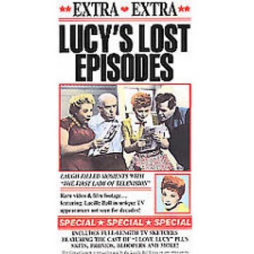 Lucy's Lost Episodes (VHS, 1990) New
