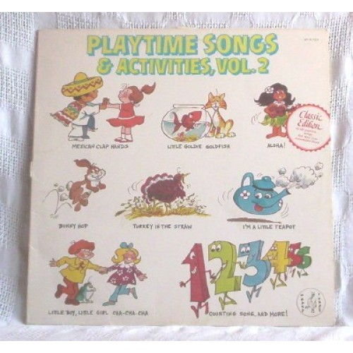 Playtime Songs & Activites, Vol. 2