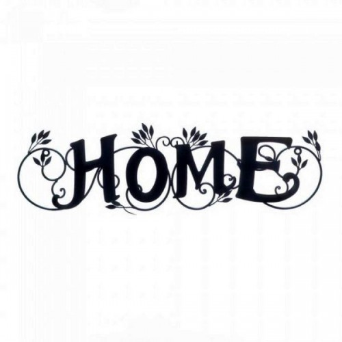 10017915 Accent Plus Love Blooms Home Wall Plaque