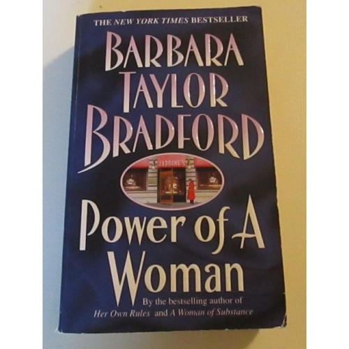 POWER OF A WOMAN ~ By Barbara Taylor Bradford
